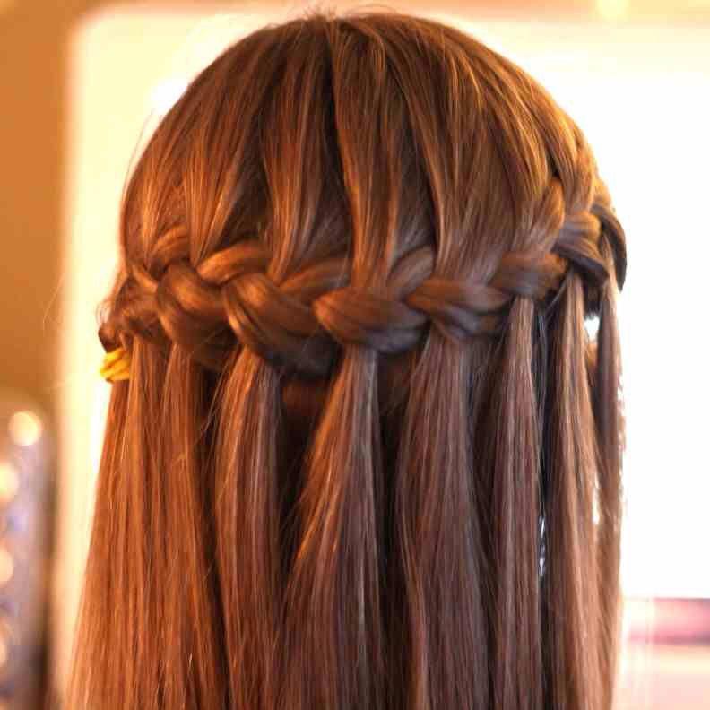 Typical Waterfall braid