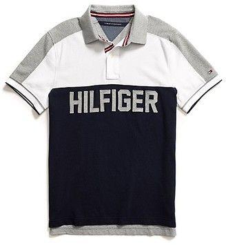 46f4df18 ShopStyle: Tommy Hilfiger Men's Custom Fit Pieced Polo | Boy Shirt ...