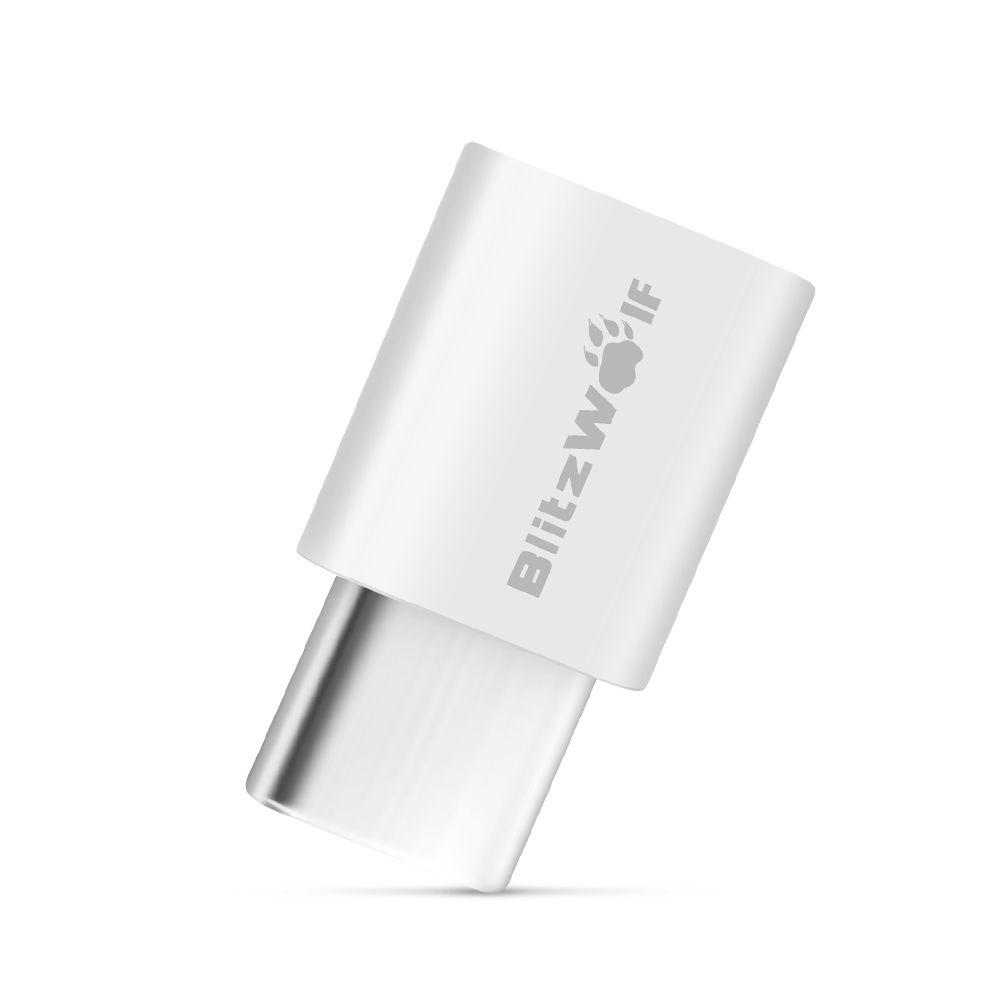 BlitzWolf® BW-A2 Micro USB to USB Type-C Connector USB C Adapter 2PCS
