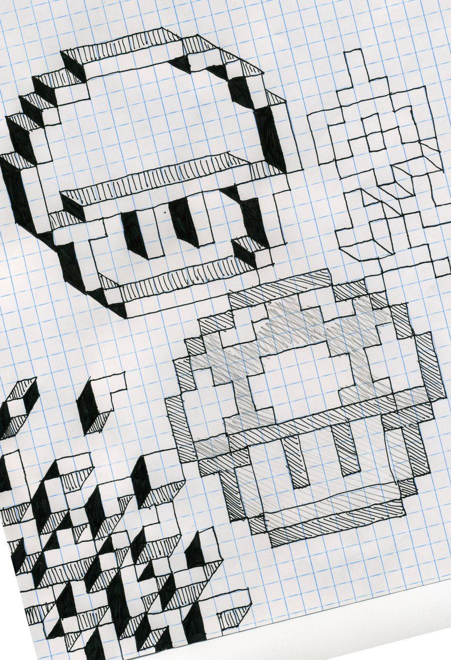 graph paper fun by utahdude deviantart com on deviantart drawing