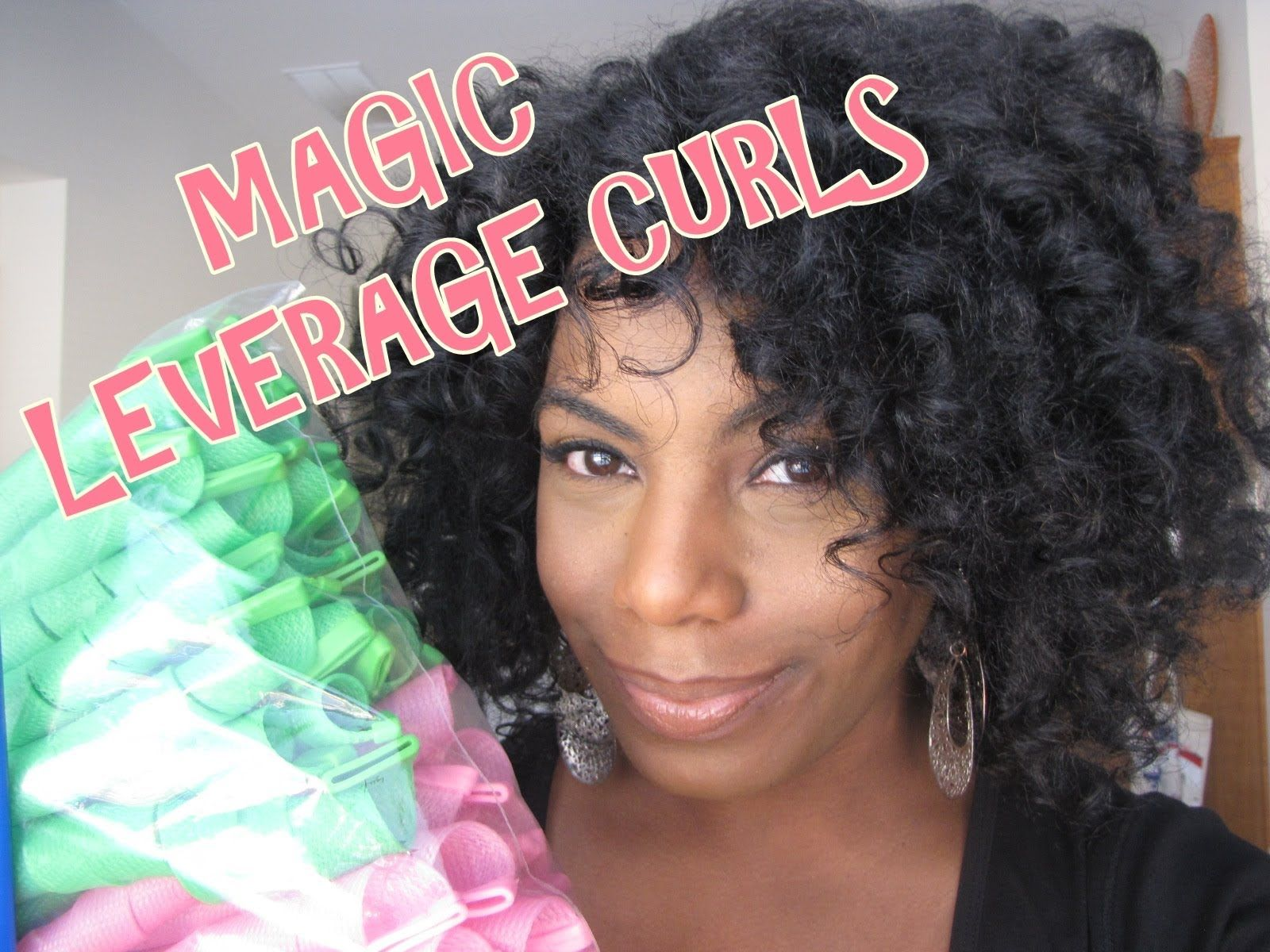 Chic curls with curlers Magic Leverage