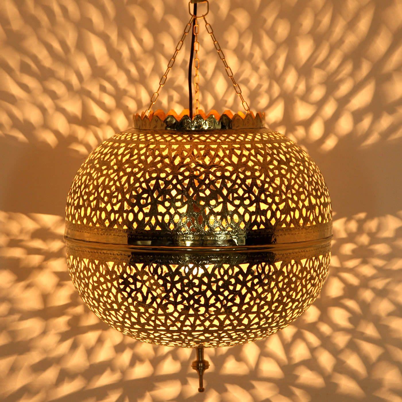Messinglampe Assiya Orientalische Lampen Lampen Orientalisch