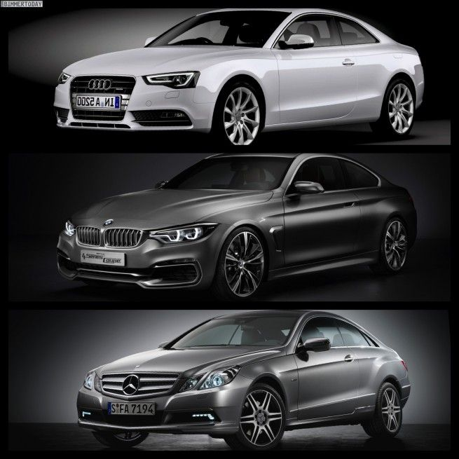 Photo Comparison: BMW 4 Series Coupe Vs. Audi A5 Vs