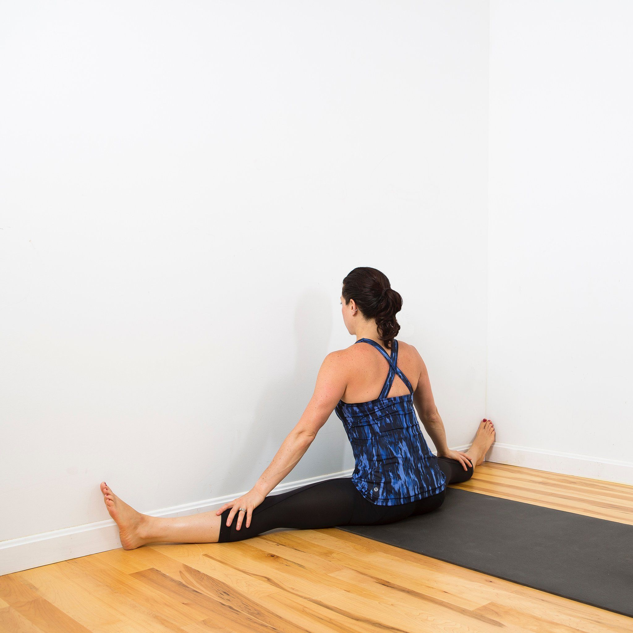 The Ultimate Inner Thigh Stretch Using Just a Wall