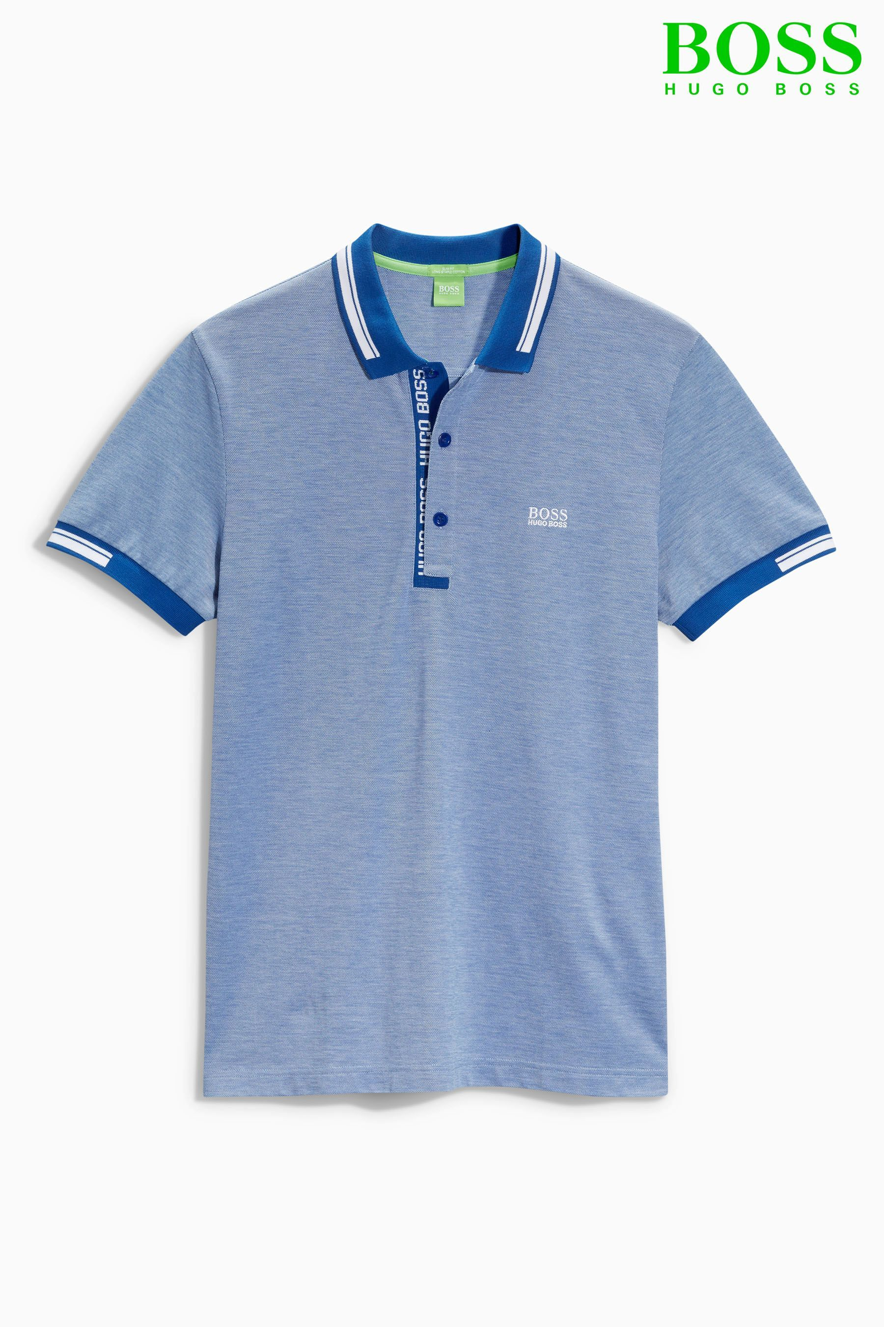 f3810910 Buy Hugo Boss Green Blue Paule Polo from the Next UK online shop | I ...