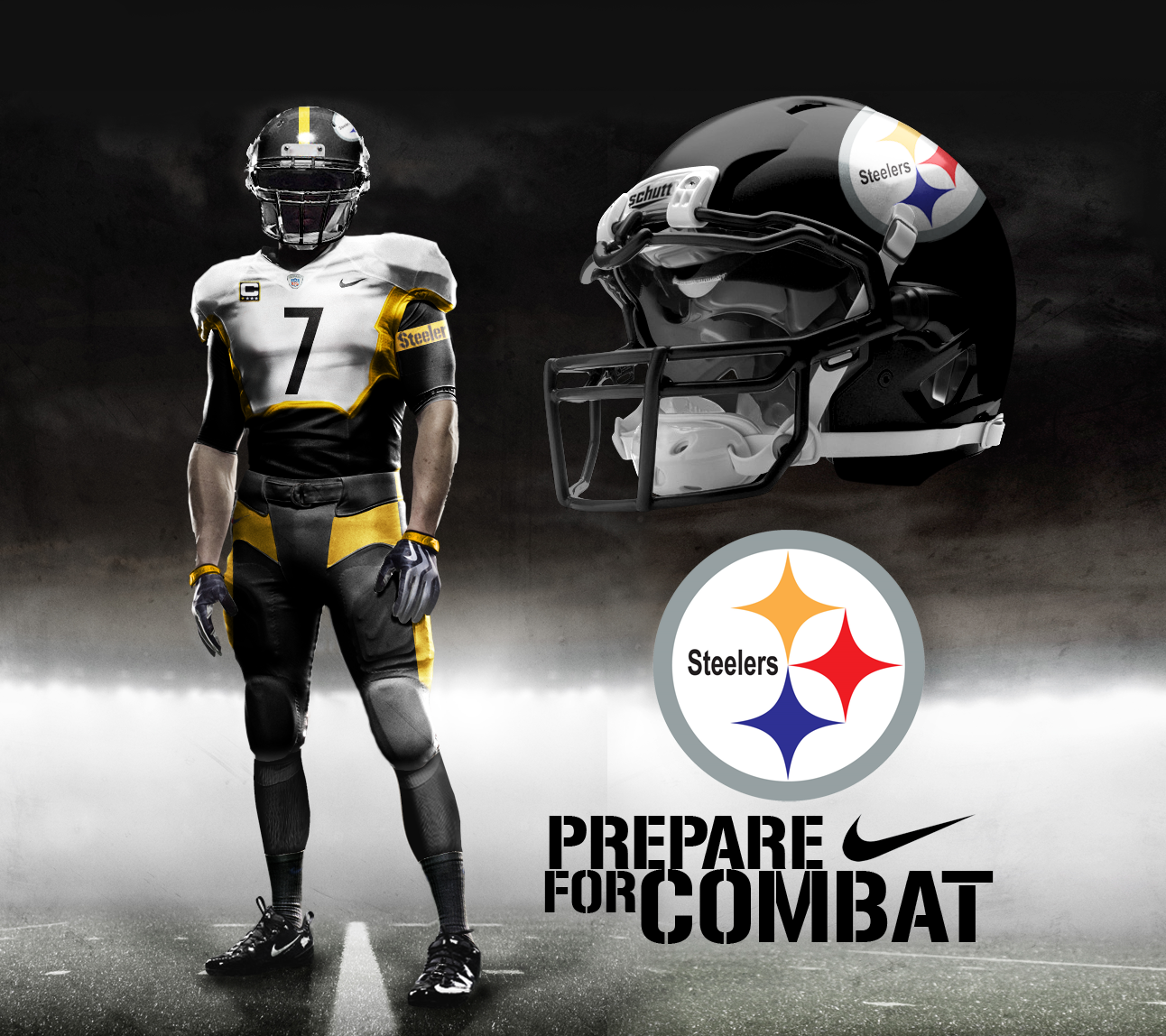 los angeles 215be ce8d7 Pittsburgh Steelers Away by DrunkenMoonkey.deviantart.com on ...