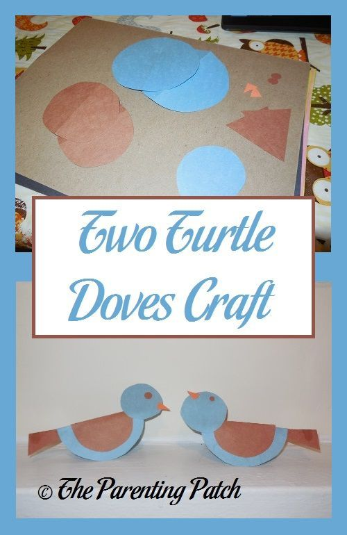 Two Turtle Doves Craft Kids Crafts Pinterest Turtle Craft And