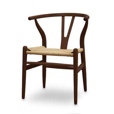 Style Study - Danish Modern Baxton Studio Wishbone Chair