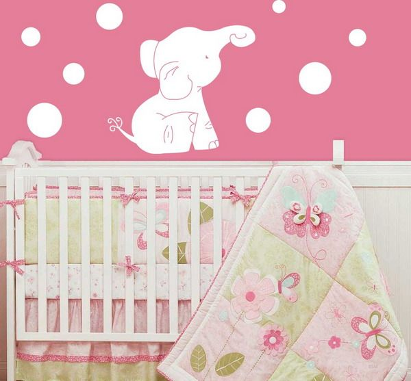 Love The Elephant Decal Will Look Good With Either Boy Or Girl - Nursery wall decals elephant