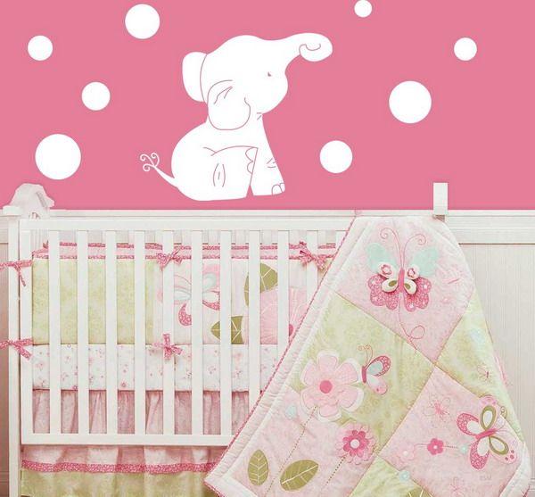Cuarto para ni a beb pinterest cuartos para ni os - Decoracion de cunas para nina ...
