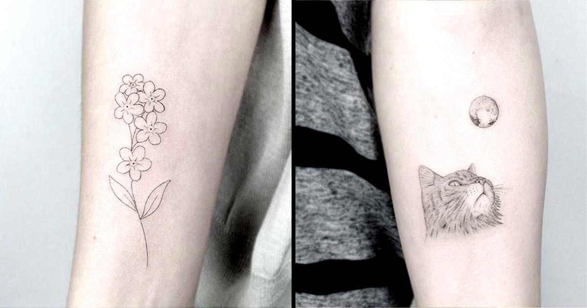 Beautiful Fine Line Tattoos By Jakub Nowicz Petit Tatouage Tatouage