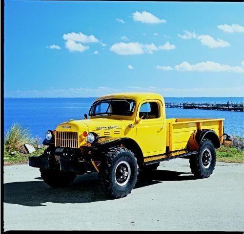 Vintage Upgrade: Trucks - 1946 Dodge Power Wagon