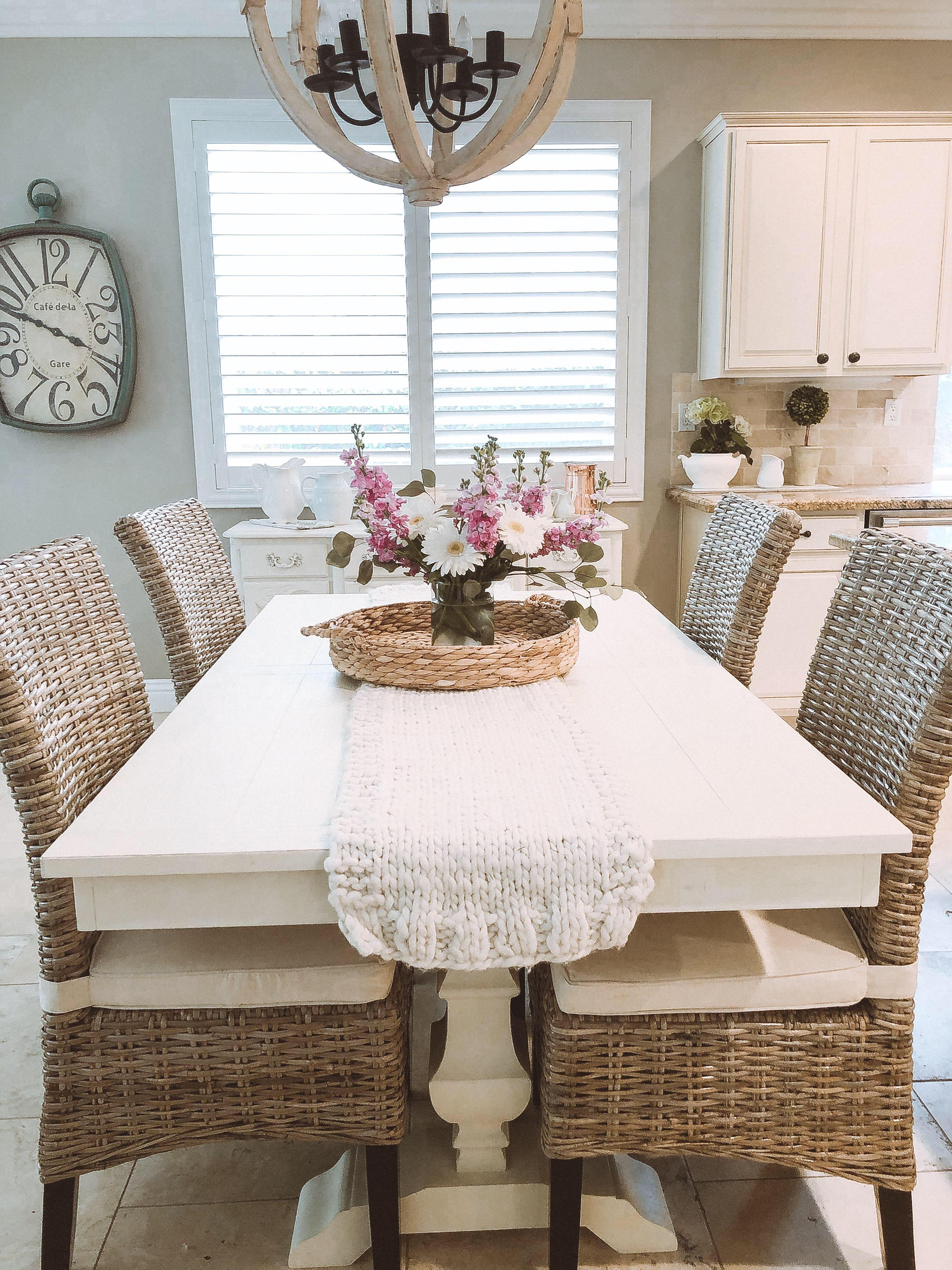 Pier1 Table And Chairs Farmhouse Dining Room Table Dining Room Table Decor Dining Table