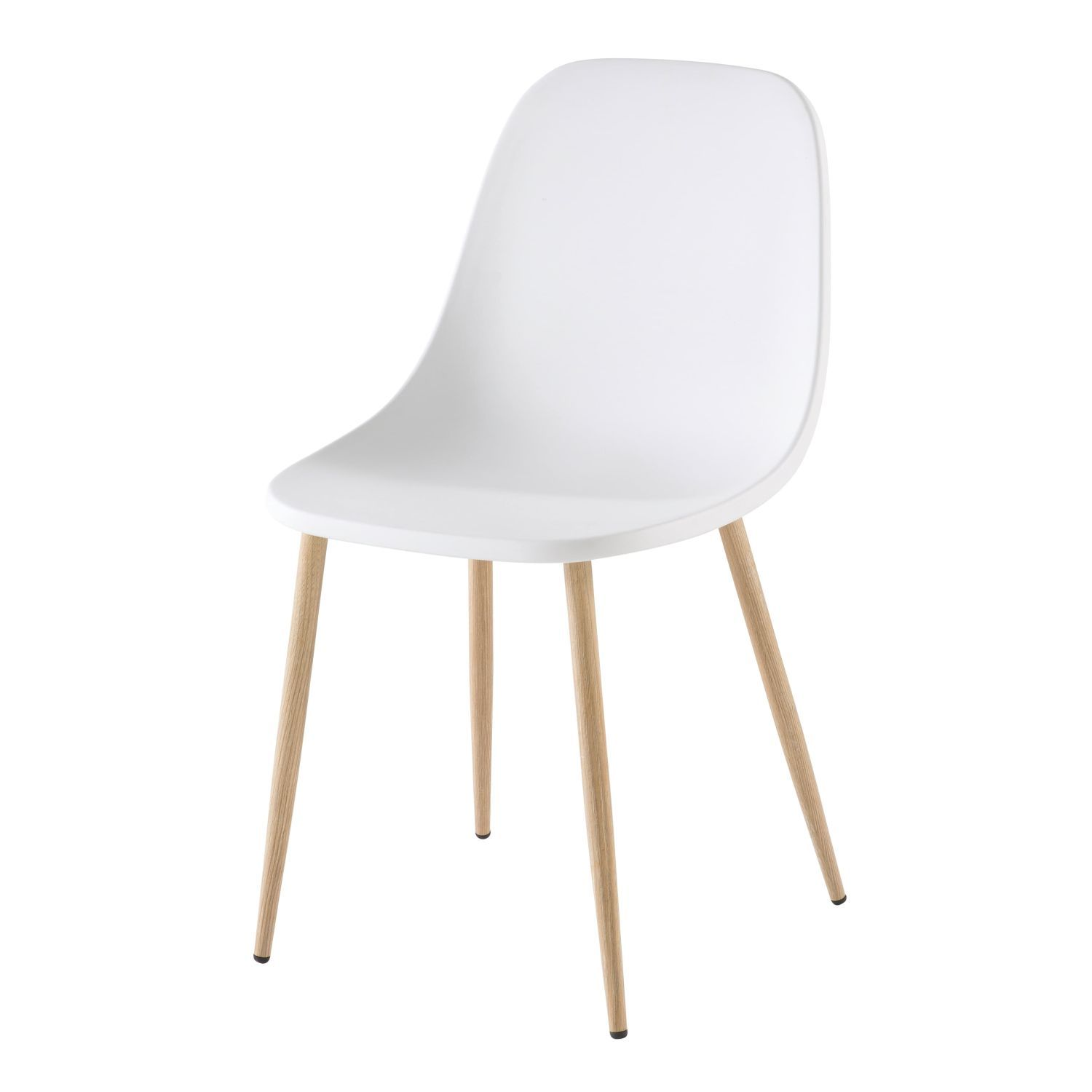 Contemporary White Chair In 2020 Contemporary Office Chairs