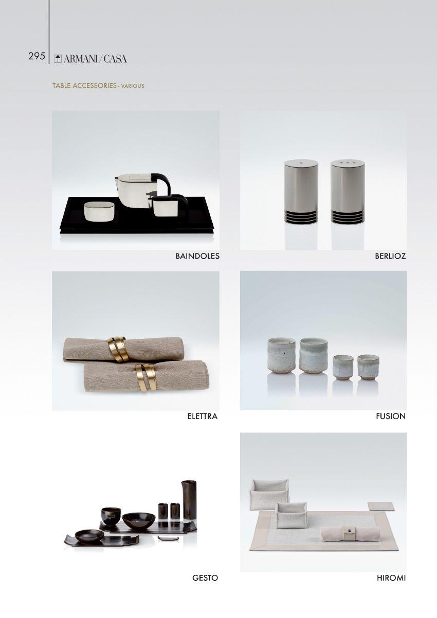 Table Accessories Armani Casa Props Pinterest # Meubles De Tele Berlioz