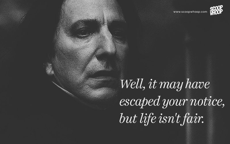 20 Quotes By Snape, The Harry Potter 'Villain' That We All Grew To Love