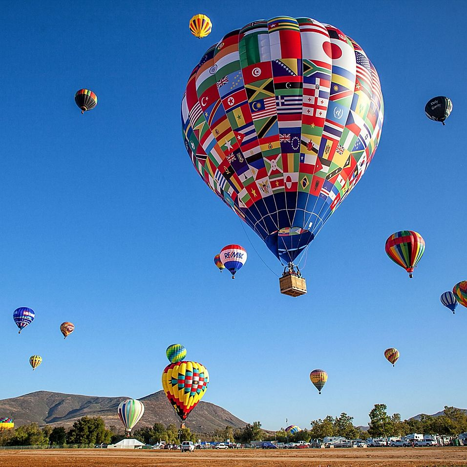 Temecula Sunrise Shared Balloon Ride by VEBO® Hot air