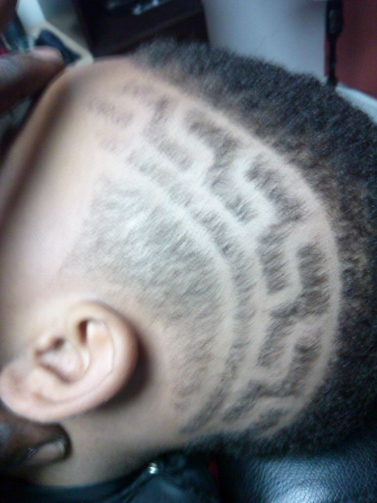 Aztec Haircut : aztec, haircut, Personal, Haircut, Designs