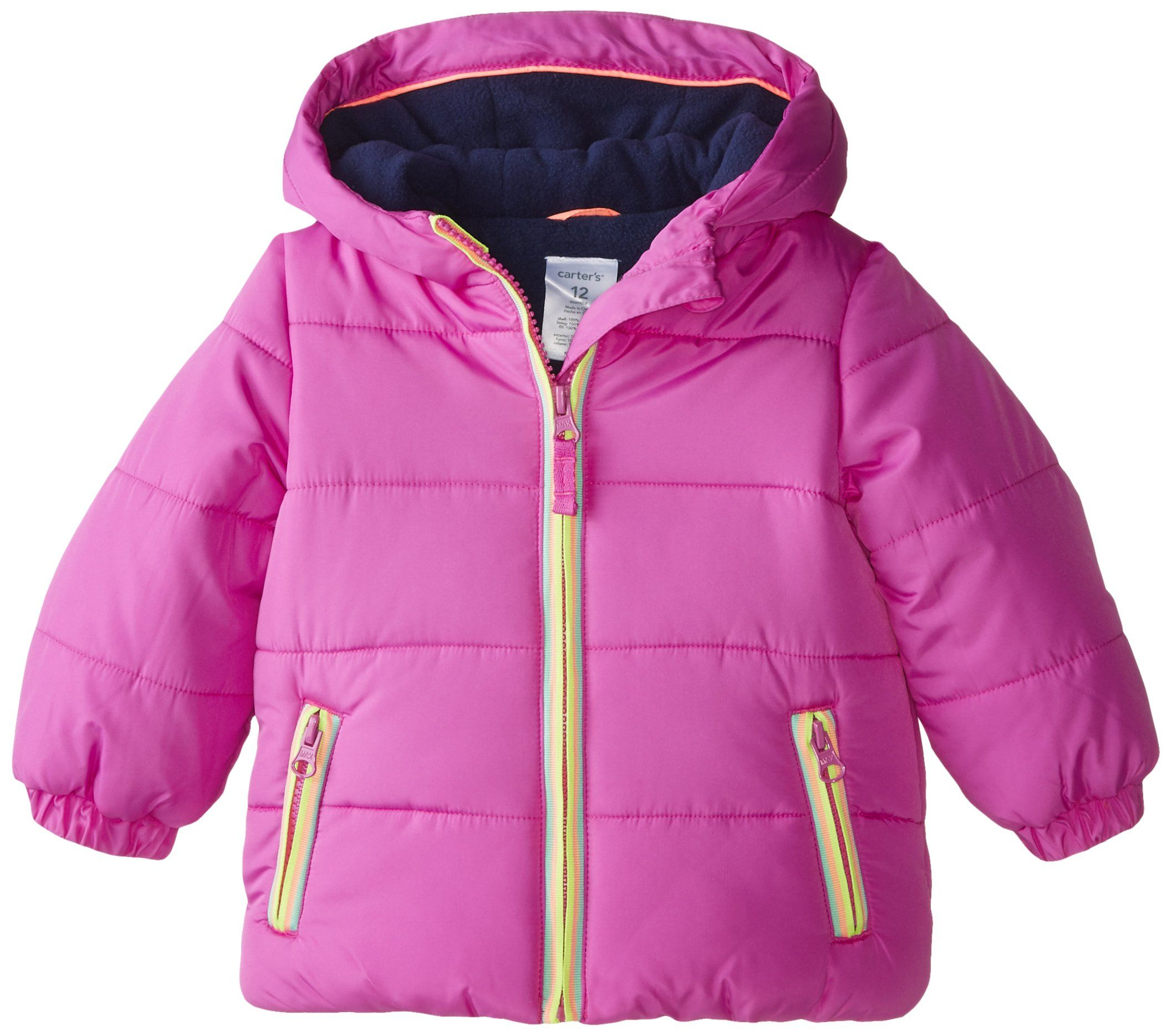 aa90bf767 Carter s Baby Girls  Heavyweight Jacket