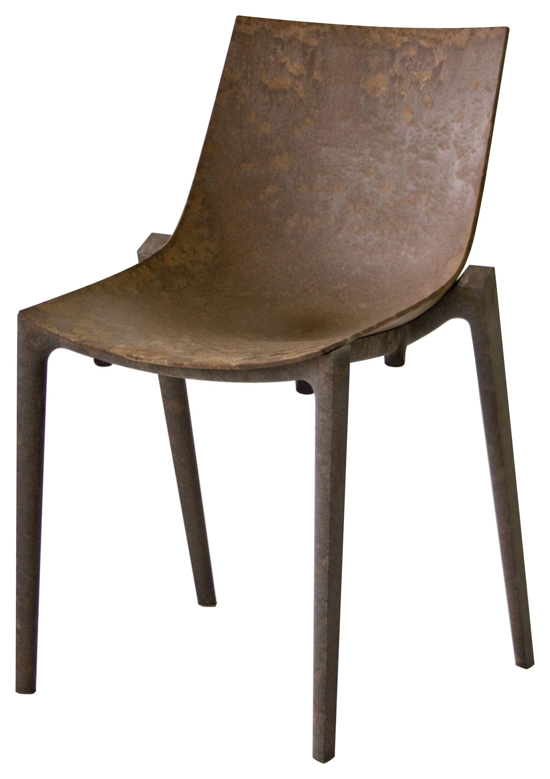 Philippe starck outdoor chair - Chaise Empilable Zartan Raw Fibre De Bois