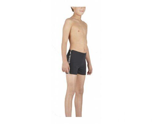 2c828e5e0e SPEEDO Junior Superiority Aquashort, Black, 24in Boys In Speedos, Aqua  Shorts, Swim