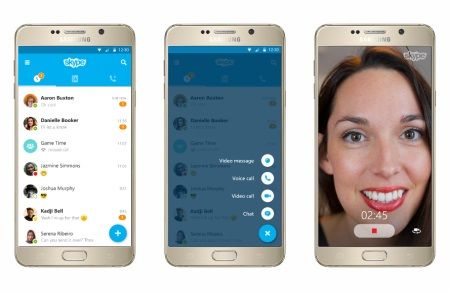 Microsoft redesigns Skype for Android and iOS with version