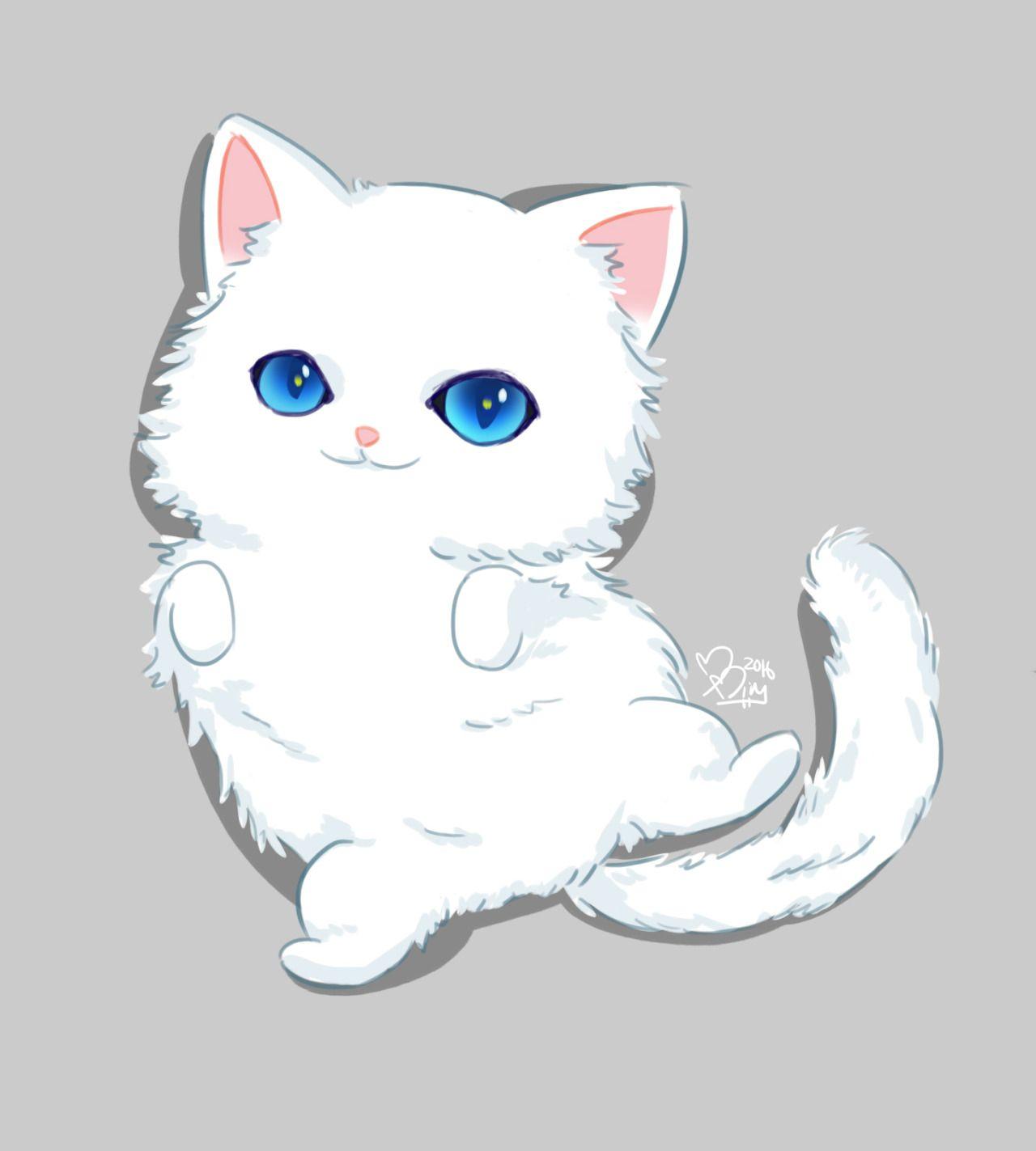 I Love This Mystic Messenger Fanart Anime Cat Persian Cat