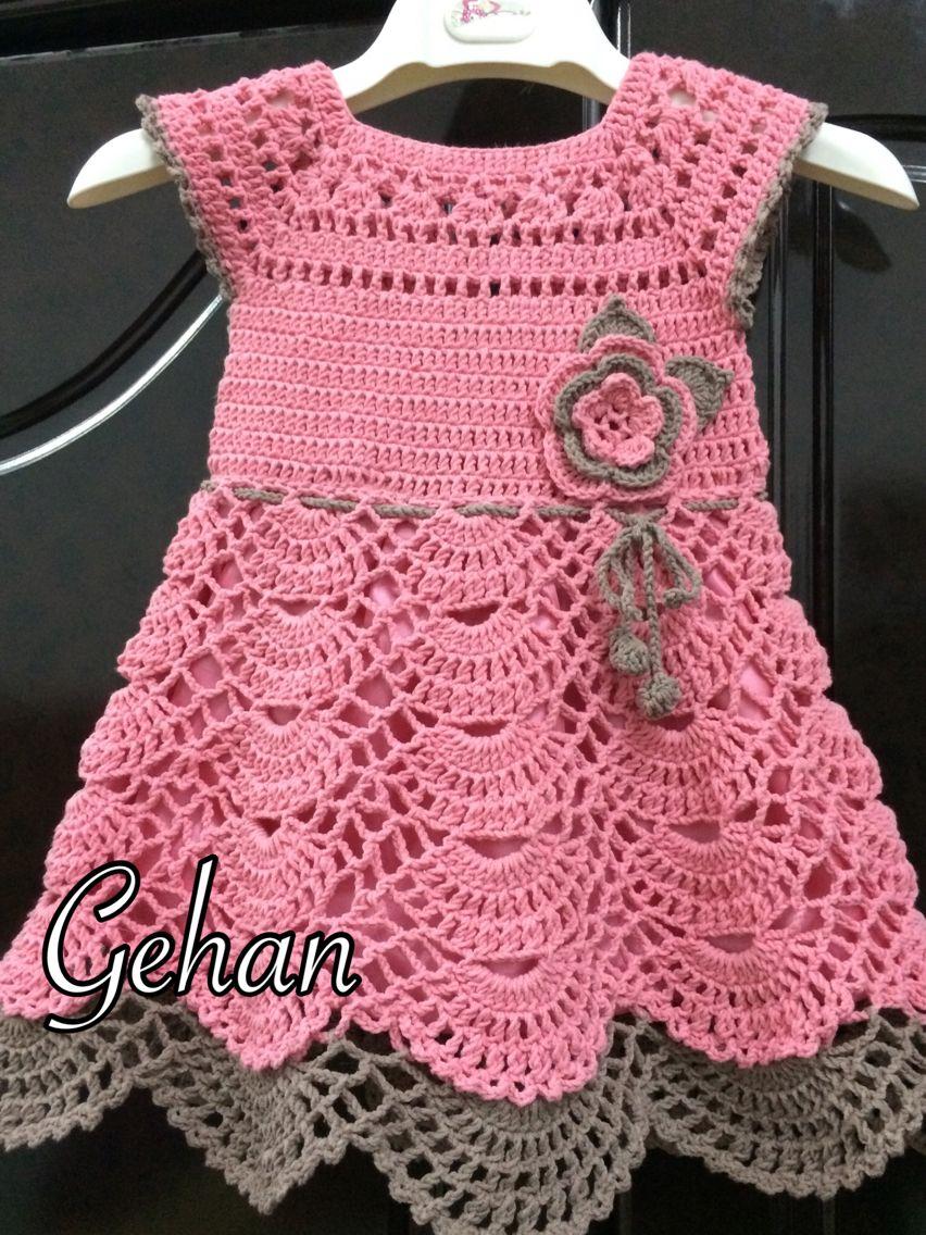 202f8a225 Pin de Anticuchos El Pimienta en mis creaciones | Vestido de niña ...