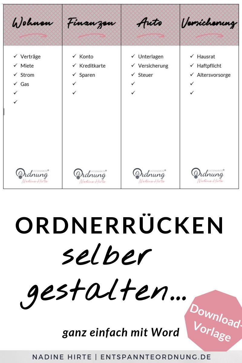 Ordnerrucken Word Kostenlose Vorlage Zum Download Ordnerrucken Vorlage Ordnerrucken Word Ordnerrucken