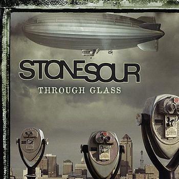 Stone Sour – Through Glass (single cover art)