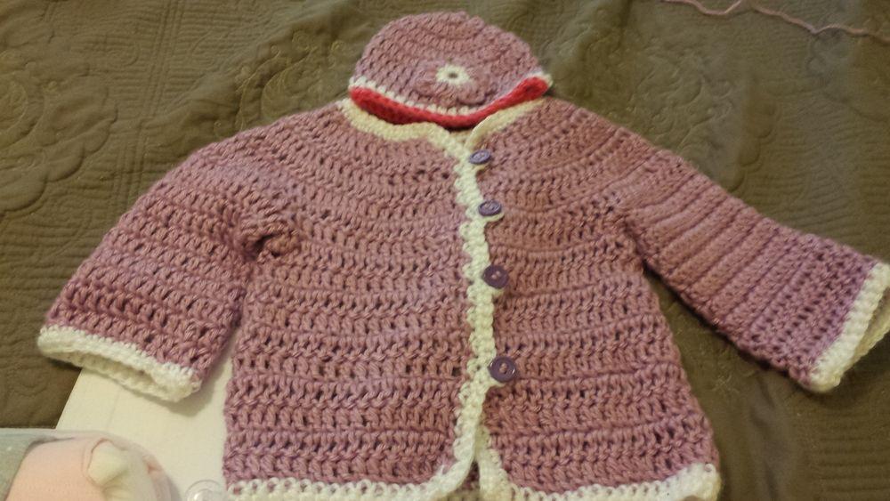 Super Fast Baby Cardigan   Crochet For Babies & Kids   Pinterest