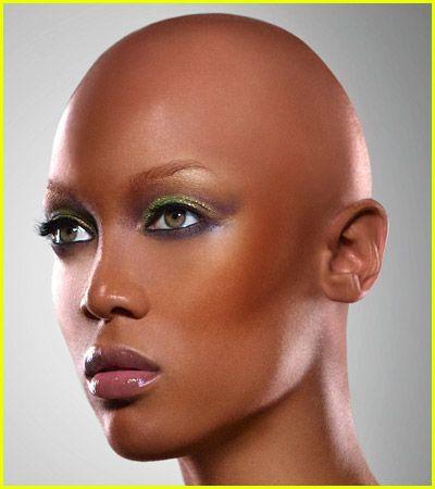 Black model pic shaved