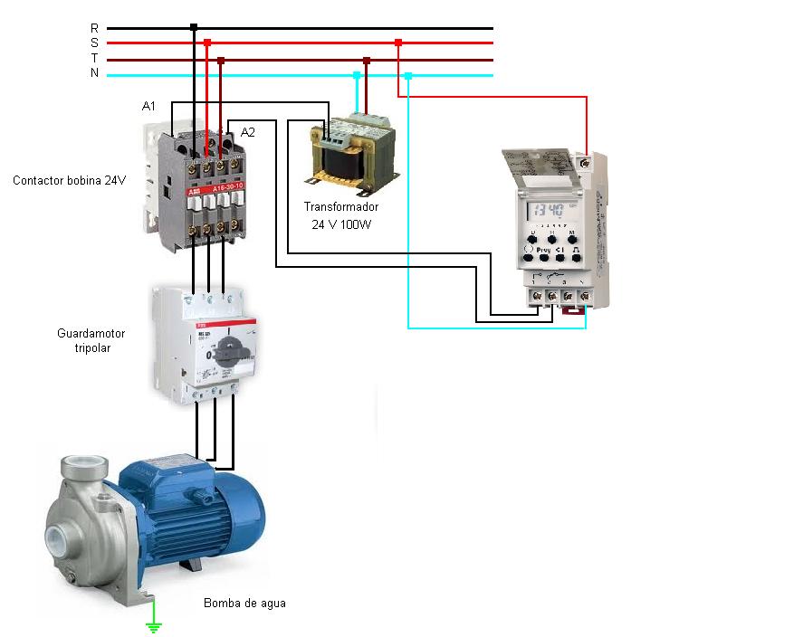 Electricidad y automatismos el ctricos descargas archivos for Esquema piscina
