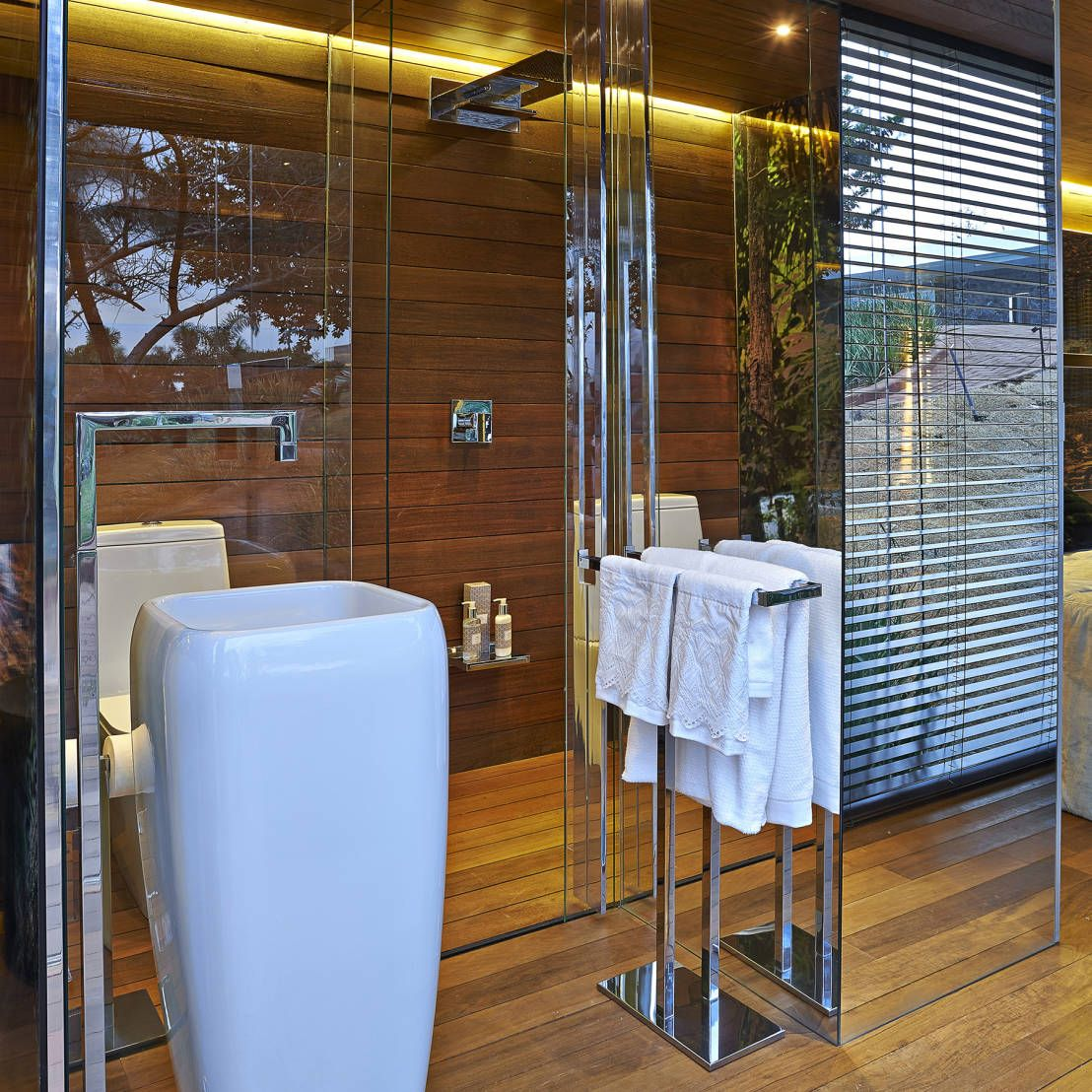 Tranquil Bathroom The Ultimate Container House Villas Container Houses And Bathroom