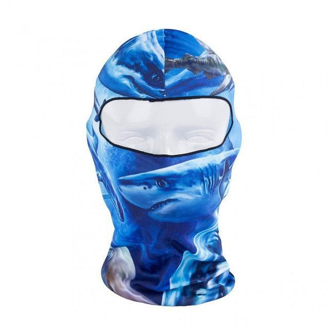 Hot New 3D Print Outdoor Sports Bicycle Cycling Protect Full Face Mask