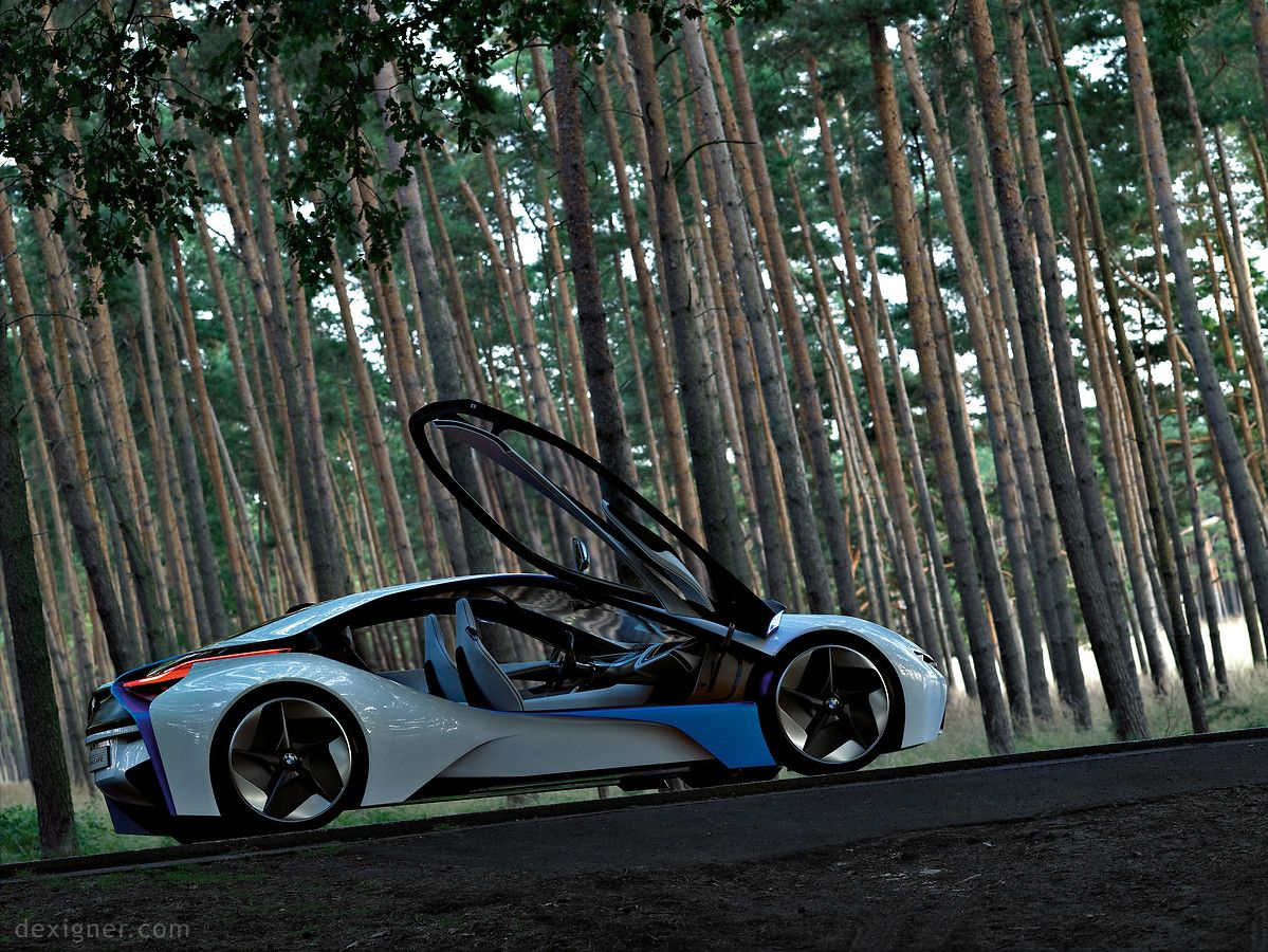 BMW Vision EfficientDynamics 01