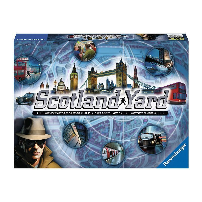 Scotland Yard Game by Ravensburger Family games, Family
