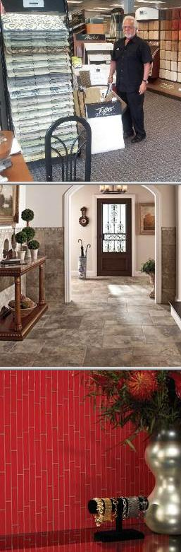 65 years of experience in selling and installing vinyl floor tiles ...