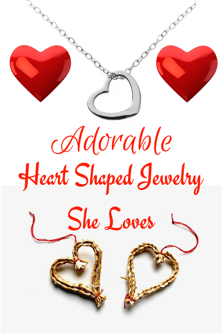 Gorgeous heart jewelry women find perfect on valentineus day
