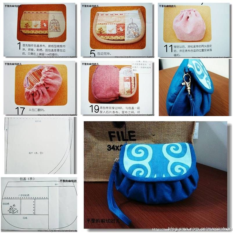 How To sew your own Cute designer Handbag s step by step DIY ...