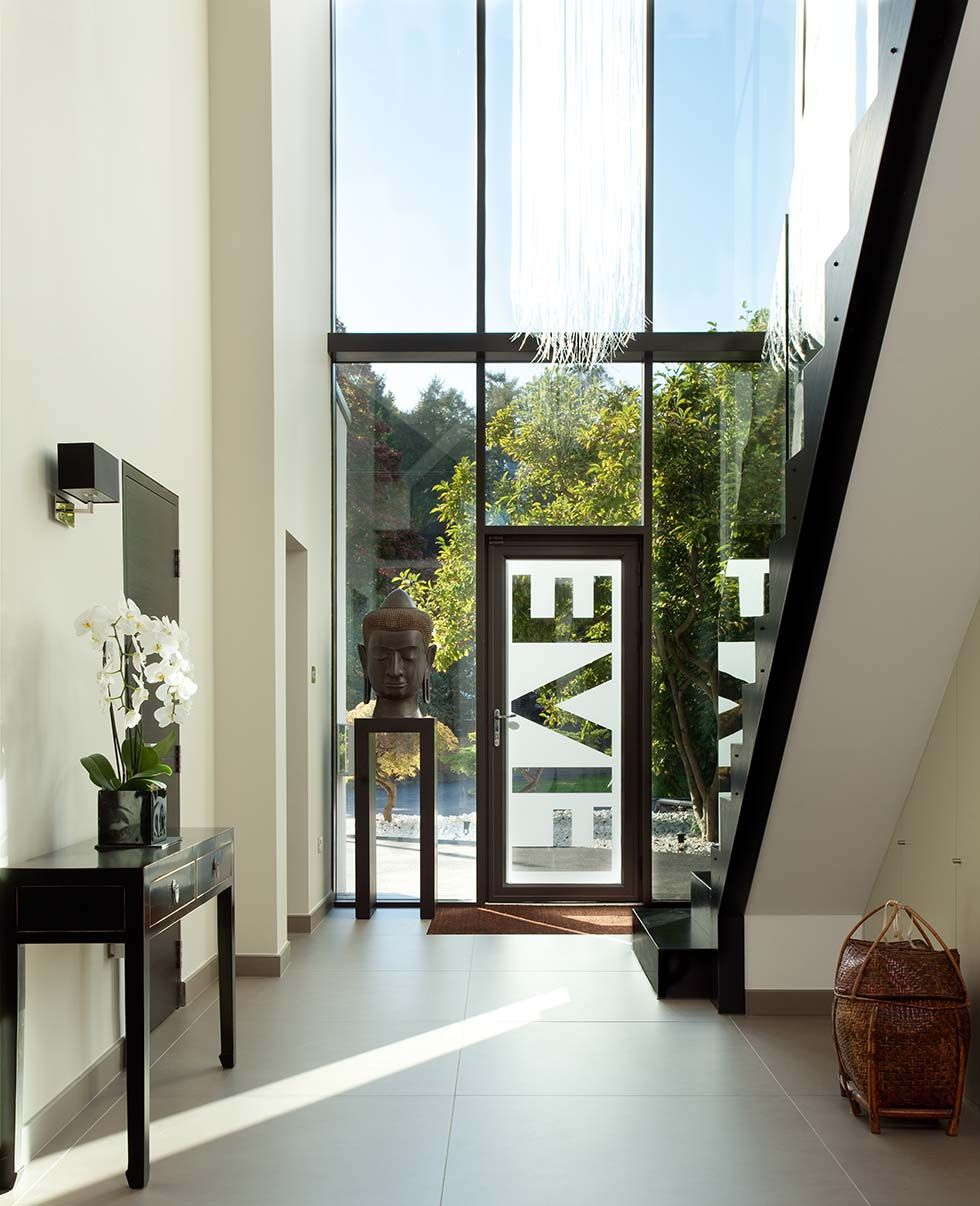 Double Height Entrance Hall In A London Remodel Houses