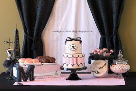 Jessicakes: Maddie's Fashion Birthday Cake