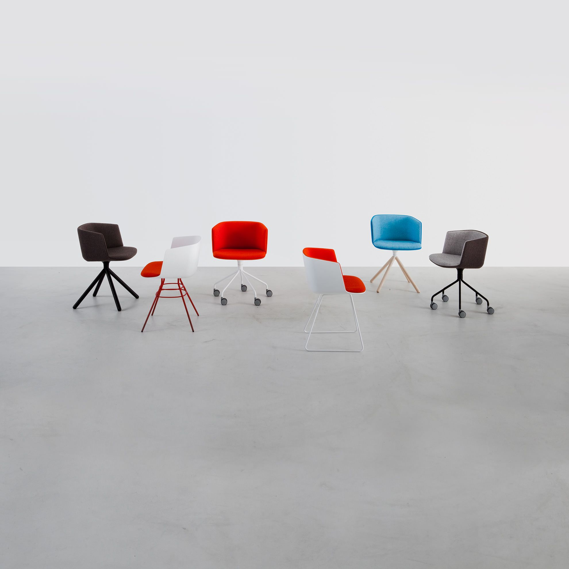 colorful chairs modern chairs design lounge office indoor