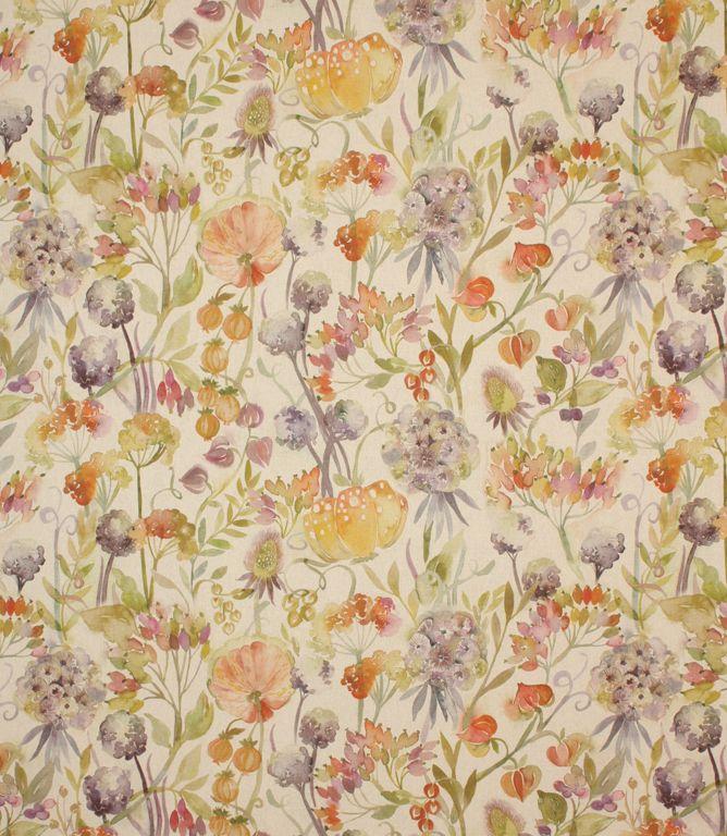 Autumn Floral Fabric Contemporary Fabrics