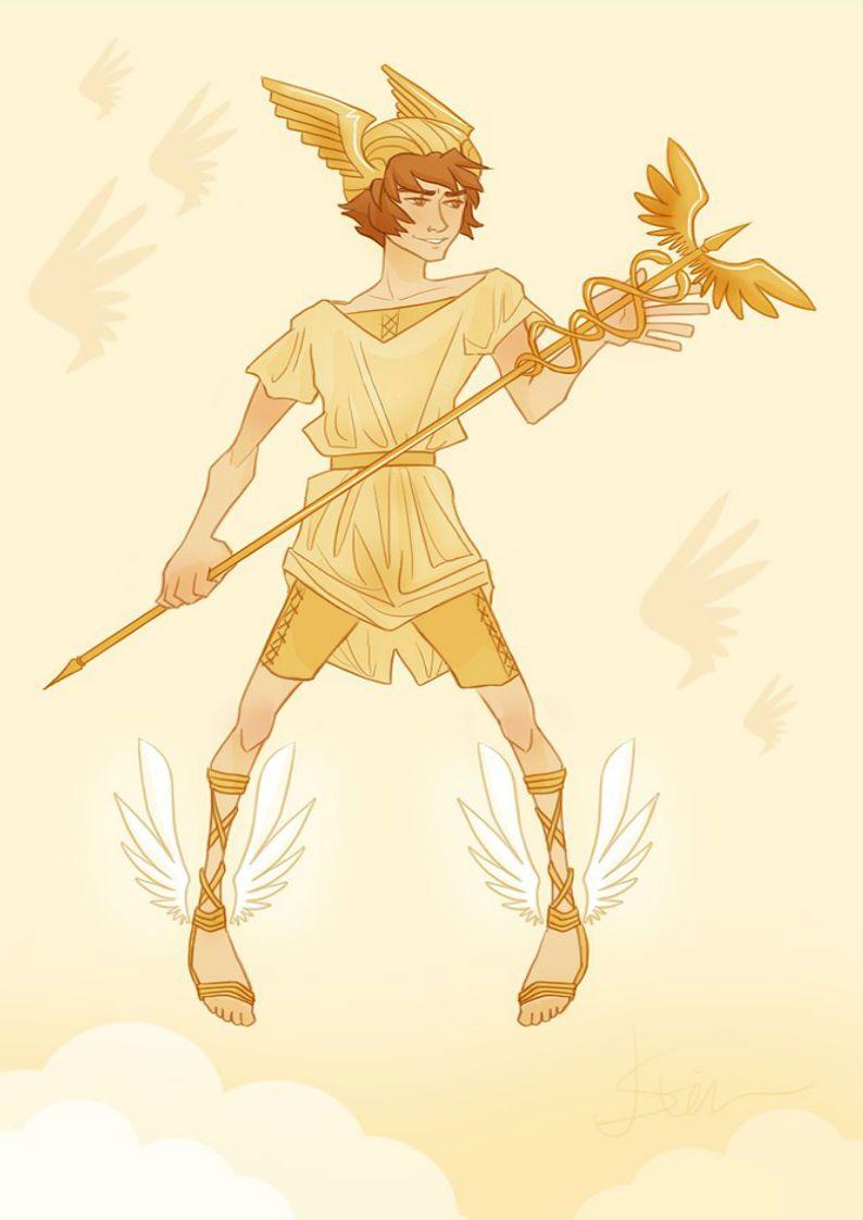Capa Hermes 4 Mythologie Grecque Dieux Grecs Mythologie