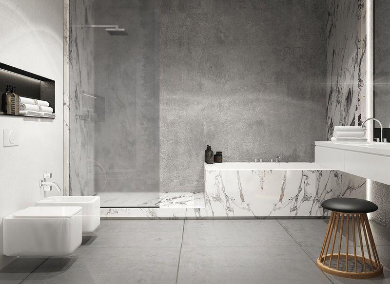 Ванная комната бетон песко бетонные смеси