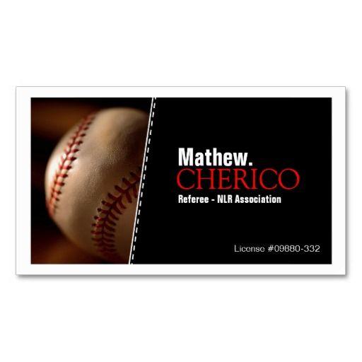 Baseball business cards sports coach business cards pinterest baseball business cards colourmoves Choice Image