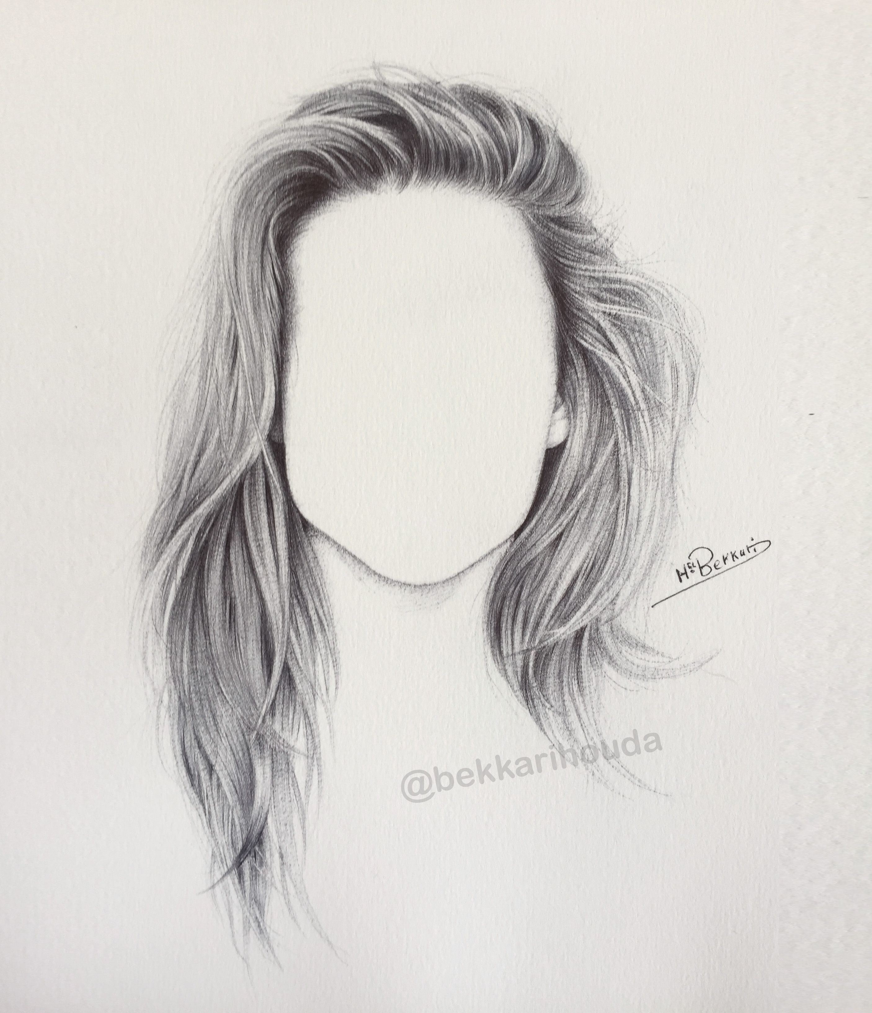 How To Draw Detailed Hair Realistic Hair Drawing Realistic Drawings Drawing Hair Tutorial