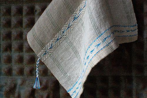 judie's blue bird cloth: hemp,linen,cotton, silk