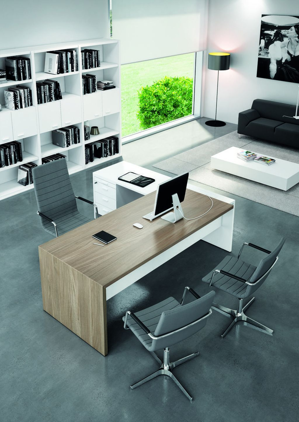 Top 30 Stunning Home Office Layout Homeoffice365 Homeofficewalmart Homeofficedecor Homeoffic Office Furniture Modern Office Desk Designs Modern Office Design